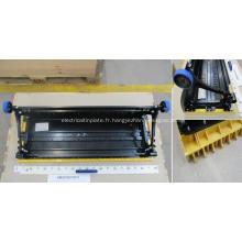 Marchepied 1000 mm en acier inoxydable pour escaliers mécaniques KONE KM5270673G13