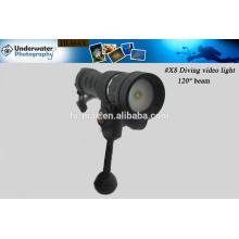 Wasserdichtes 200m Marine-LED-Licht, Fotoausrüstung Tauchen Video / Foto Licht