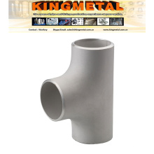 """A403 Wp309h Wp321/317, 4""""Hot Forming Butt-Welded Stainless Straight Tee"""