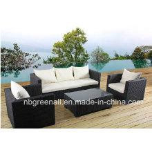 Garten Rattan Outdoor Möbel Wicker Sofa Set