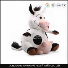 Brinquedos feitos sob encomenda do luxuoso da vaca de Milka do animal do brinquedo