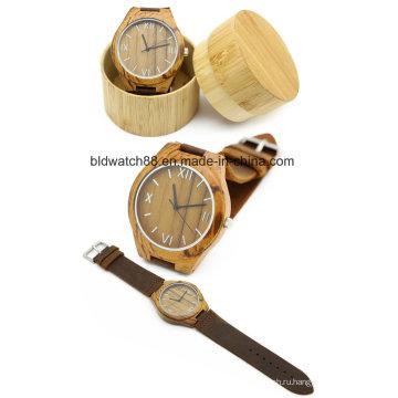 Классический Бамбук Деревянные Часы Мужчины Женщины Наручные Часы Горячая Распродажа 2017