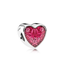 S925 silver bracelet accessory knot cute peach heart shaped string high quality jewelry sterling silver beads