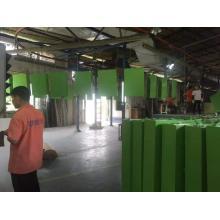 Línea de pintura de fluorocarbono de chapa de aluminio