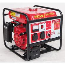 Générateur d'essence à onduleur numérique à onde sinusoïdale 3500W