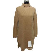 Suéter de jersey de punto 100% de cachemira de OEM de Mongolia Interior