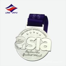 Medalha de design personalizado de correspondência de esportes promocionais