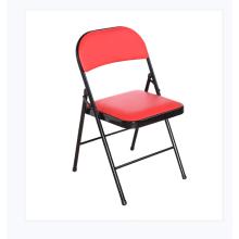 Wholesale black padded metal folding chairs