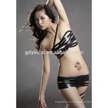 Tatuaje temporal Costomized para mujer vientre (CYMK)