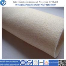 Bolsa de filtro Nomex no tejida del colector de polvo para la planta de asfalto