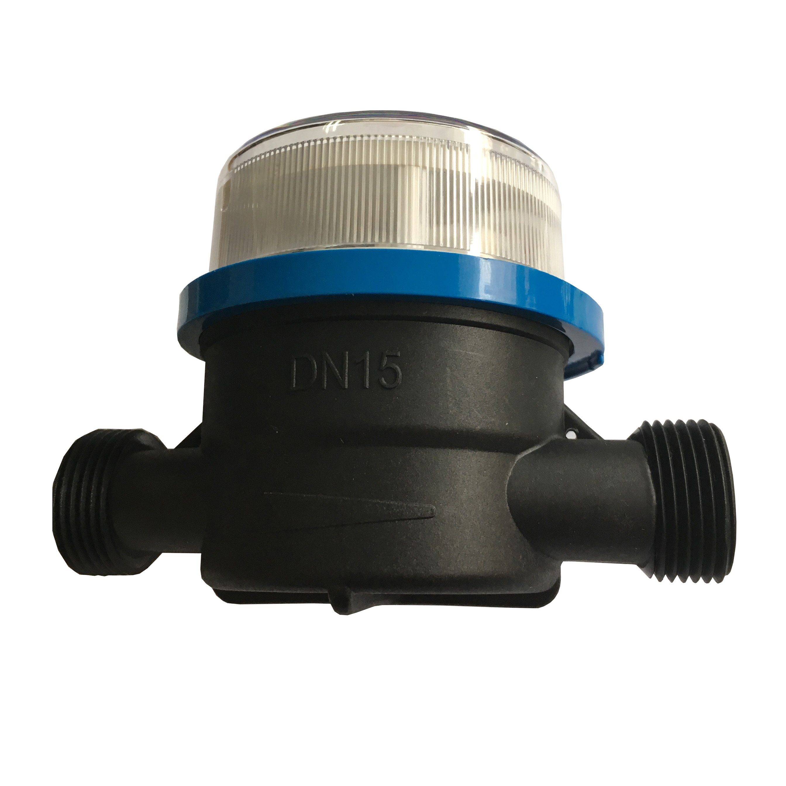 Single Jet Dry Type Household Cold Plastic Water Meters