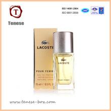 Caixa de embalagem de papel personalizada para perfume
