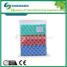 Cut wiping rag 30*50cm RED,YELLOW, BLUE
