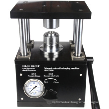 Hydraulic Coin Cell Crimper Machine for Lab Button Battery Research