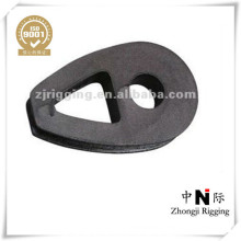 Raw Material Malleable DIN 3091 Ductile Cable Thimble