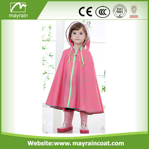 Colorful PVC Kids Rain Suit