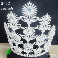 New High Quality Big pageant crowns for sale,pageant crown tiaras