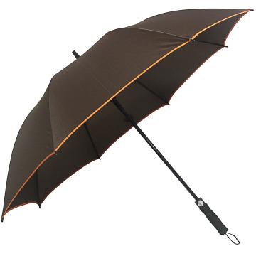 Large Size Automatic Open Comfortable EVA Handle Fold Golf Umbrella Logo Prints