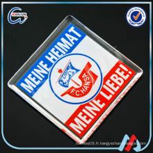 Photo insert clear acrylic fridge magnet