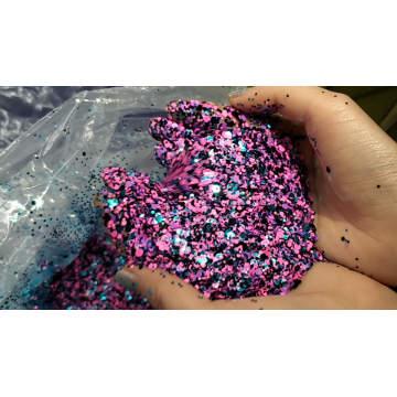 Flocons de paillettes holographiques pour la décoration et le nail art