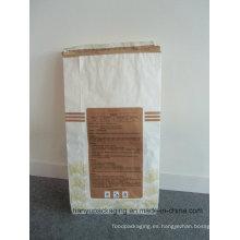 Acepte el bolso de encargo del cemento del papel de Kraft de la orden