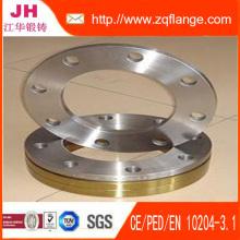 Klasse 150 300, 600, 900, 1500, ANSI ASME B16.5 geschmiedet Carbon Stahl A105 Flansch