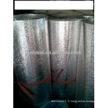 Rouleau en feuille d'aluminium