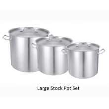 Stockpot works for lobster chili or soup pot