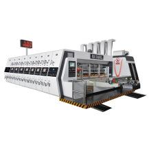 Automatic Lead Feeder Flexo Carton Box Printing slotting and die cutting machine