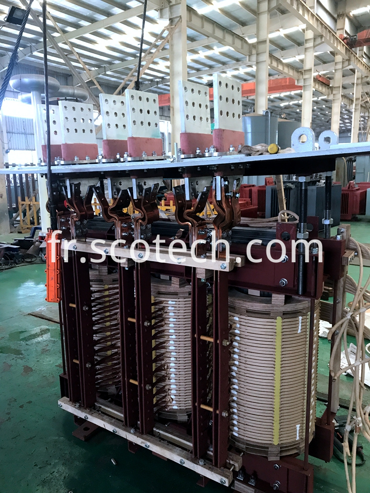 arc furnace transformer active part