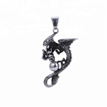 33496 xuping Cheap wholesale design fashion Stainless Steel jewelry black gun color cool  pendant