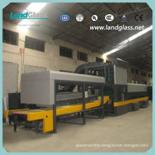 Landglass Car Glass Tempering Machine with Bending Tempering Sections