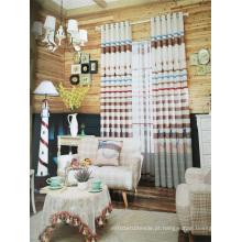 Home Use cortina tecido de poliéster rosa EDM5368