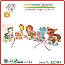 Wild Animal Pull Toys