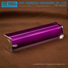 ZB-PK50 50ml doble capas botella acrílico sin aire cosméticos cuadrados de 50ml excelente calidad