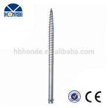 Langlebige professionelle Herstellung Spiral Ground Schraube Anchor Stake