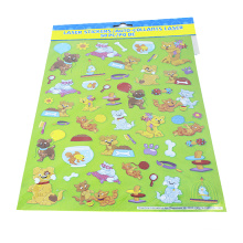 Lovely Cat and Dog Cartoon Sticker Happy Life Funny Sticker Diary Decoration Stickers