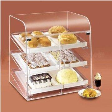 Pop estante de acrílico para pasteles, exhibición de acrílico de publicidad