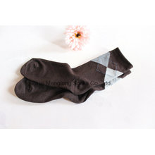 Дизайн классический алмазов мужчин бизнес хлопчатобумажные носки
