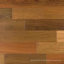 Suelo interior de madera sólida lisa natural IPE