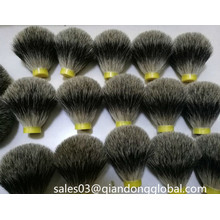 Forma de bulbo Pure Badger Hair Shaving Brush Knots