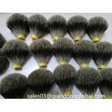 Bulb Shape Pure Badger Hair Shaving Brush Knots
