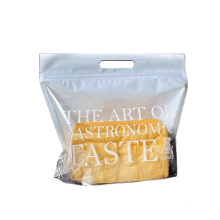 High Quality Food Packaging Zipper Bags For Bread Toast Biscuits with own design