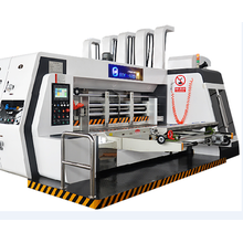 Roller to Roller 3 colors print slot die cut machine with stacker1200x2400mm