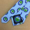 Men Print Silk Neckties