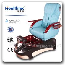 Schönheit Glas Schüssel PU Fuß Pediküre Stuhl (B501-51)
