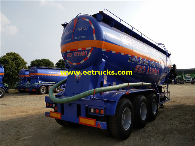 Bulk Powder Tank Trailers