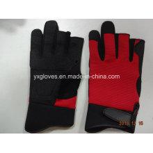 Рабочие перчатки-ПВХ наладонником перчатки-перчатки промышленные перчатки рыболовные перчатки перчатки безопасности труда перчатки