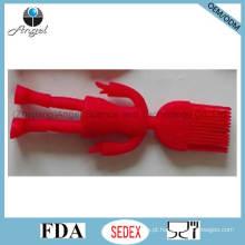 Kid's Silicone Baking ferramenta escova com forma humana Sb11