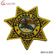 Custom Logo Embroidered Patches for Souvenir (LM1567)
